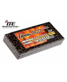 Gens Ace 4200mha 7,4v 60C 2S2P HardCase Lipo