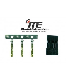 CONECTOR HEMBRA ORO KIT JR