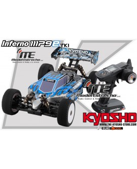 INFERNO MP9e TKI3 1/8 RTR 4WD ELECTRICO