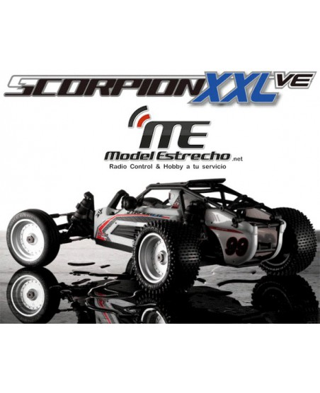 KYOSHO SCORPION XXL VE READYSET T2 - NOIR