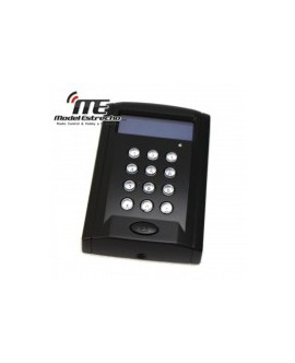 Lector RFID Access Controller Keypad Time Clock Negro