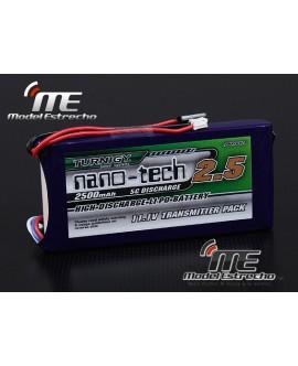 BATERIA TURNIGY NANO-TECH 11.1v 2500mah Lipo