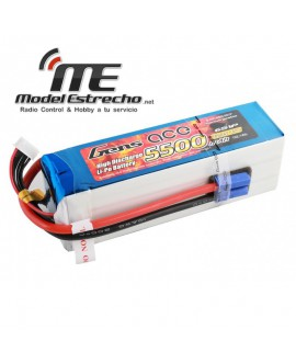 Gens Ace 5500mah 22,2v 45C 6S1P Lipo Battery pack