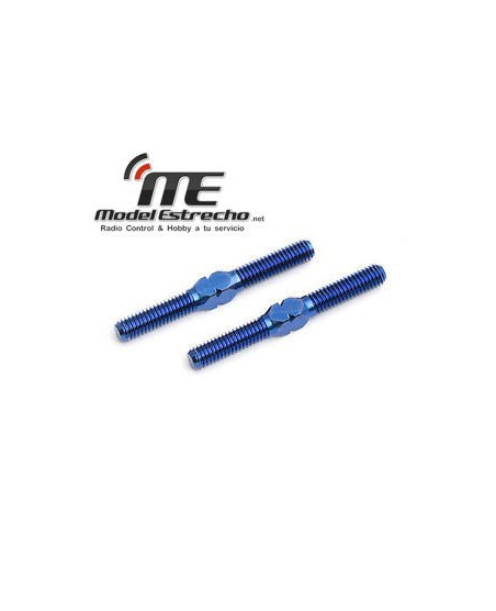 BLUE TITANIUM TUMBUCKLES  1.00/25.5mm B5M