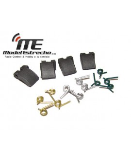SET ZAPATAS EMBRAGUE ALUMINIO