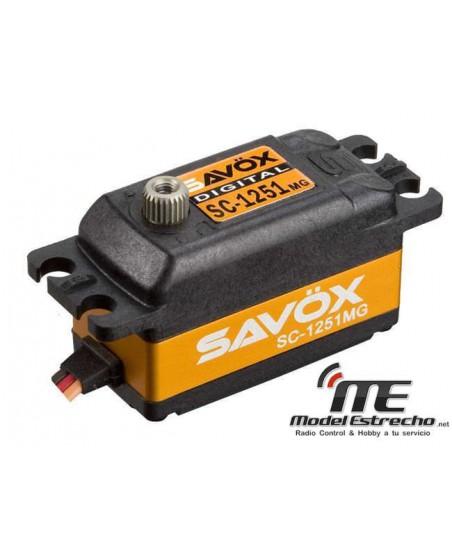SERVO SAVOX SC1251MG PERFIL BAJO