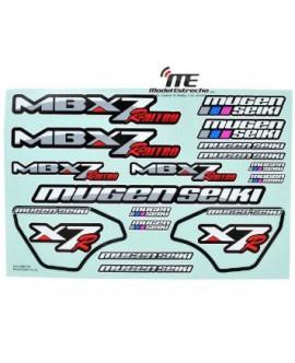 ADHESIVOS MUGEN MBX7R NITRO