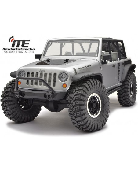 AXIAL SCX10 JEEP WRANGLER RUBICON UNLIMITED 4WD 1/10 SCALE ELECTRIC 4WD ROCK RACER RTR