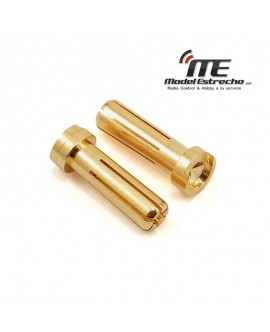 CONECTOR  5mm BANANA MACHO ORO (10 U.)