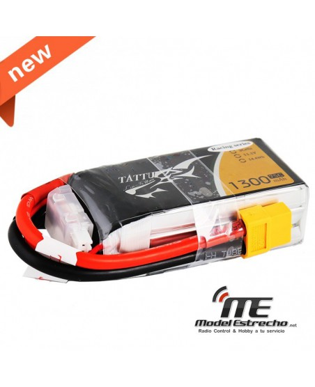 TATTU GENS ACE 1300MAH 11,1v 75C 3S1P LIPO BATERIA PACK SPECIALLY LIMITED EDITION