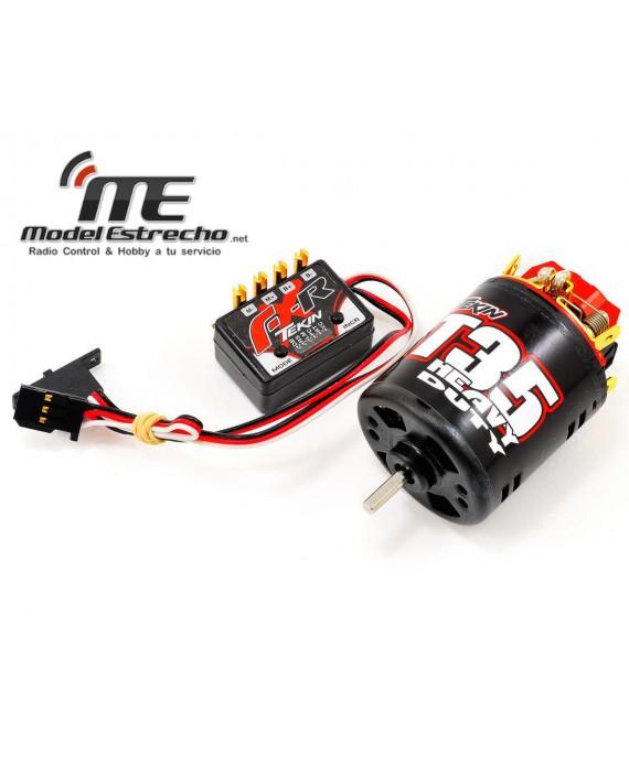 TEKIN FX-R ROCK CRAWLING ESC/MOTOR COMBO W/35 HD