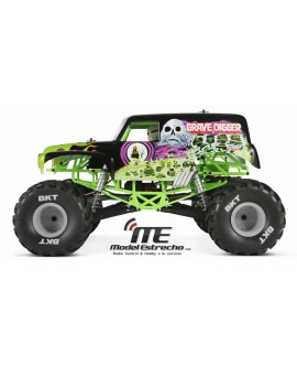 AXIAL SMT10 GRAVE DIGGER MONSTER JAM 4WD 1/10 RTR