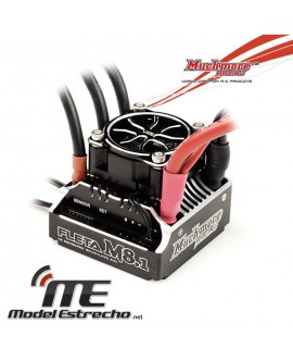 MUCHMORE FLETA M8.1 COMPETICIÓN 1/8 SCALA BRUSHLESS ESC 180A