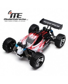 COCHE RTR ELECTRICO ROJO 1/18 BUGGY 4WD 2,4Ghz
