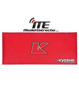 KYOSHO BIG K 2.0 PIT MAT ROJO ( 61x122cm)