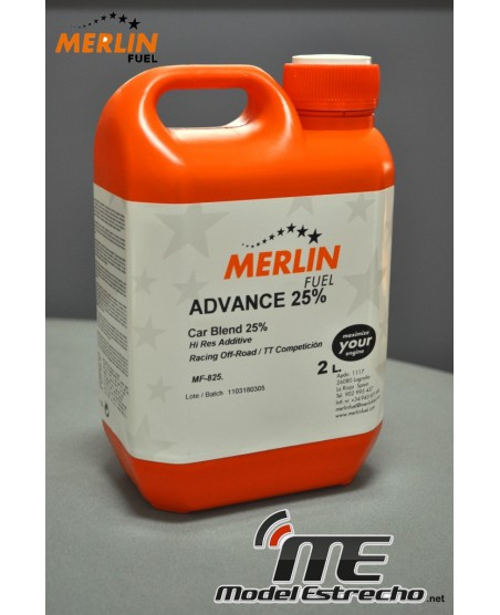 MERLIN FUEL 25% 2L.