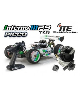 KYOSHO INFERNO MP9 TKI3 READYSET CON PICCO .21
