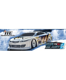 COCHE LRP 1/10 S10 B TC 2 BRUSHLESS 4WD RTR TOURING 2,4 Ghz