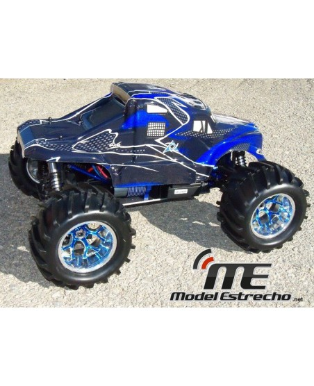 MONSTER TRUCK AZUL 1/8 HSP TORNADO BRUSHLESS