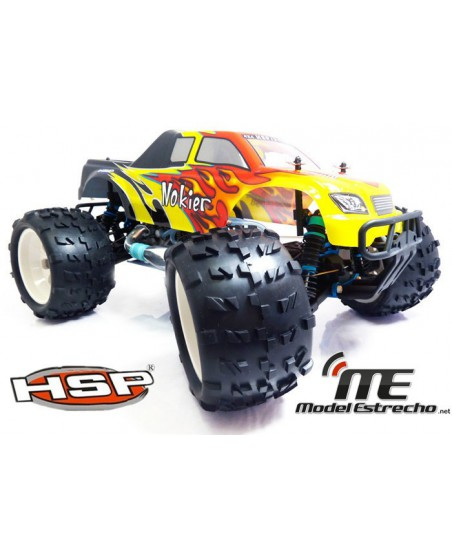 MONSTER TRUCK EDICION ROJO 1/8 HSP NOKIER BRUSHLESS