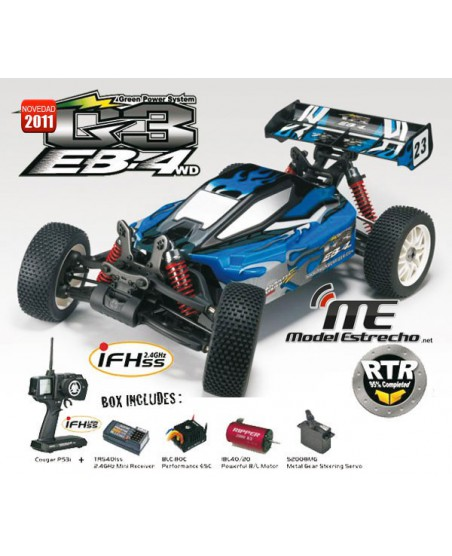 EB-4 G-3 BRUSHLESS 2.4 Ghz