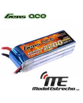 Gens Ace 2200mah11,1v 45C 3S1P LIPO BATERIA PACK