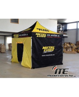 CARPA METAL LUBE 3X3