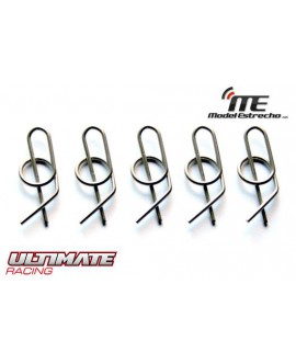 CLIPS CARROCERIA ULTIMATE SEGURIDAD 1/8  (5U.)