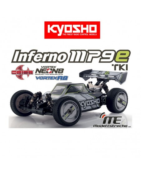 KYOSHO INFERNO MP9E TKI1 RTR ELECTRICO