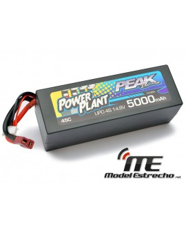 POWER PLANT PEAK LIPO 4S 14,8V. 5000mah 45C