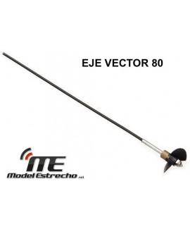 HÉLICE CON EJE TRANSMISION LANCHA VECTOR 70 V792-1