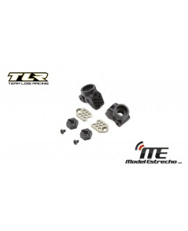 TLR GEN II REAR HUB SET COMPLETE ALL 22