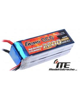 Gens Ace 2200mah14,8v 25C 4S1P LIPO BATERIA PACK