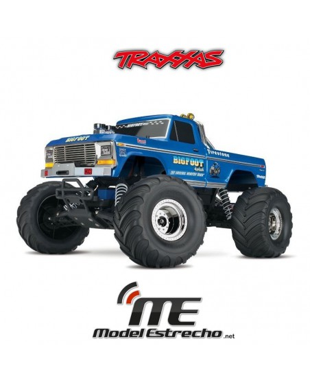 TRAXXAS BIG FOOT Nº1  THE ORIGINAL MOSTER TRUCK RTR