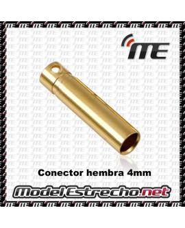 CONECTOR HEMBRA 4mm  (1U.)