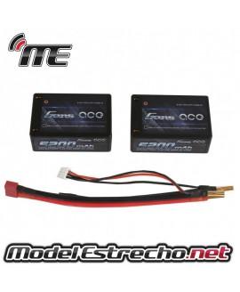 Gens Ace 5700mah 7,4v 60C 2S3P HARDCASE CAR LIPO 26