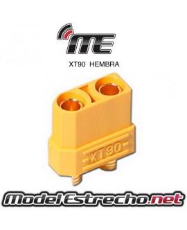 CONECTOR XT90 HEMBRA (1u.)