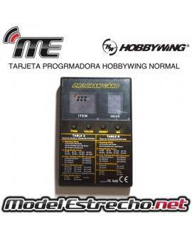 TARJETA PROGRAMADORA HOBBYWING NORMAL