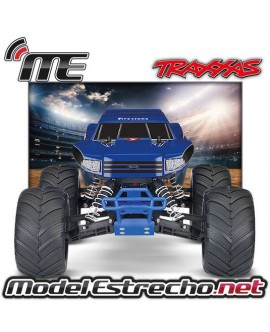 TRAXXAS BIG FOOT 1/10TH  MOSTER TRUCK RTR AZUL