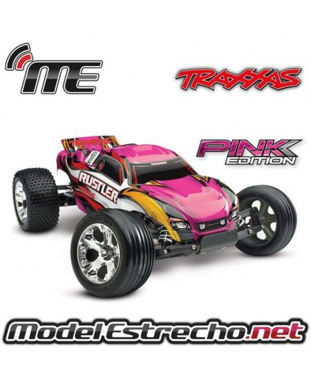 TRAXXAS RUSTLER RTR 2,4 Ghz PINK EDITION