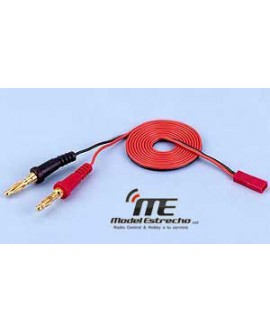 CABLE BANANA 4mm A CONECTOR BEC