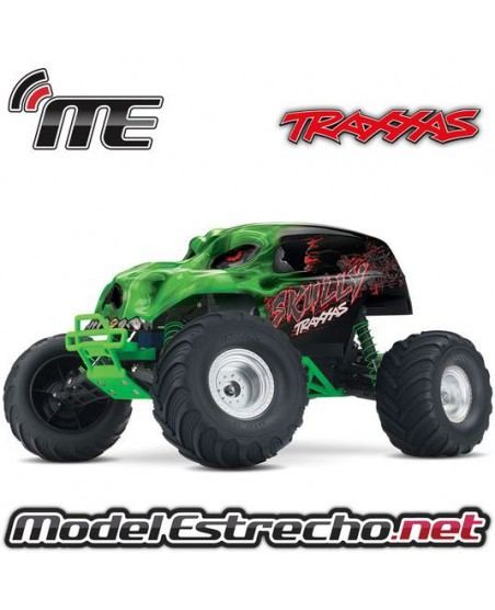 TRAXXAS SKULLY 1/10 TH MONSTER TRUCH RTR VERDE