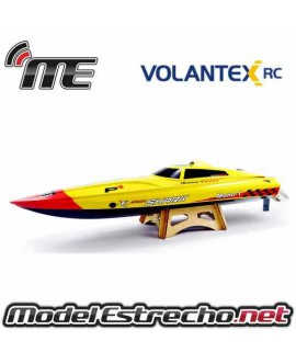 LANCHA VOLANTEX RACENT ANGRY SHARK 81cm  BRUSHLESS  2,4Ghz RTR