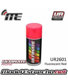 ULTIMATE SPRAY ROJO FLUORESCENTE