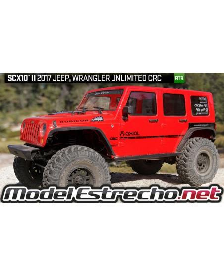 AXIAL SCX10 II JEEP WRANGLER RUBICON 4WD 1/10 RTR