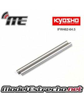 EJE DELANTERO 4X64.5mm KYOSHO INFERNO MP9 ( 2U. )
