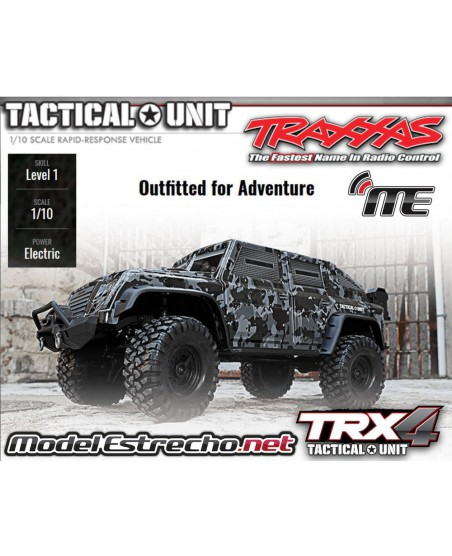 TRAXXAS TRX-4 TACTICAL CRAWLER 1/10 2,4Ghz