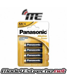 PILAS PANASONIC ALKALINE POWER AA