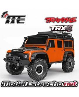 TRAXXAS TRX-4 LAND ROVER CRAWLER 1/10 2,4Ghz NARANJA