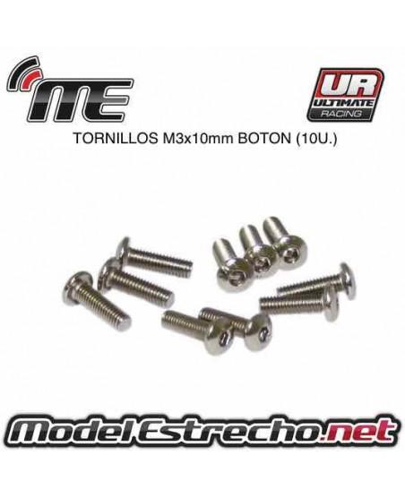 TORNILLOS SIG M3x10mm BOTON (10U.)